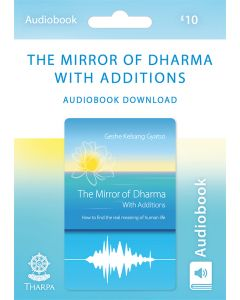 The Mirror of Dharma with Additions - Audiobook Download Card