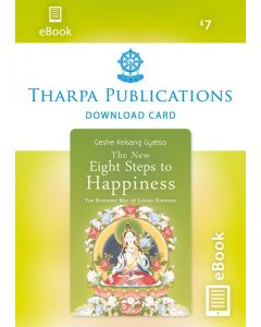 The New Eight Steps to Happiness - ebook DOWNLOAD CARD
