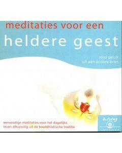 Meditaties voor een Heldere Geest - Audio CD