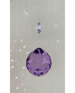 Crystal Sphere - Violet - 4cm