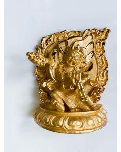 Vajrapani Statue gold - 6cm