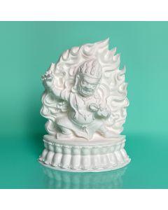 Vajrapani Plaque - NEW from the Kadampa Art Studio - WHITE