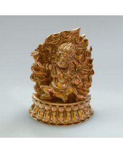 Vajrapani Plaque - NEW from the Kadampa Art Studio - GOLD colour