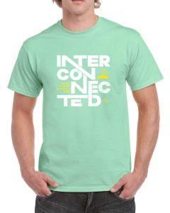 Kadampa Festival T-Shirt 'Interconnected' - MINT GREEN