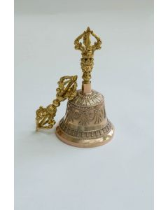 Vajra and Bell - NKT Special Replica of Mahasiddha Menkhangpa's Bell