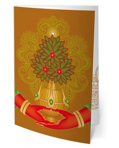 Greeting Card - Amitayus - Meditative Equipoise