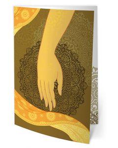 Greeting Card - Shakyamuni - Touching the Earth