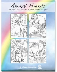 Animal Friends at the US Kadampa World Peace Temple - Colouring Booklet
