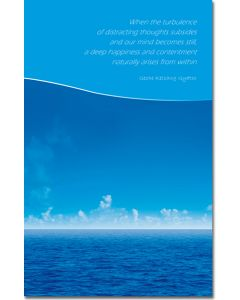 Greeting card - Calm Sea