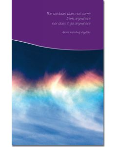 Greeting Card - Emptiness of a Rainbow