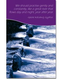 Mini Message Card - Great River