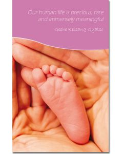 Mini Message Card - Precious Human Life