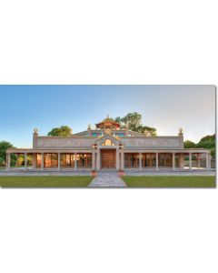 Manjushri KMC Postcard - Temple at Day