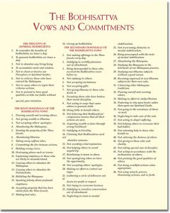 Wisdom Print - The Bodhisattva Vows