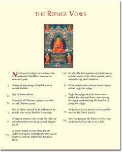 Wisdom Print - The Refuge Vows