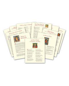 Words of Wisdom (Set of 11 prints)
