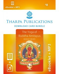 Amitayus Practice Bundle - ebooklet/mp3 DOWNLOAD CARD