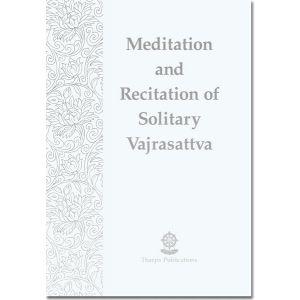 Meditation and Recitation of Solitary Vajrasattva - Booklet