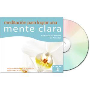 Meditación para lograr una mente clara - Audio CD