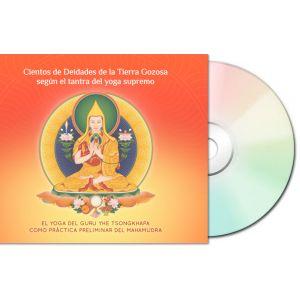 Cientos de Deidades de la Tierra Gozosa según el tantra del yoga supremo – CD