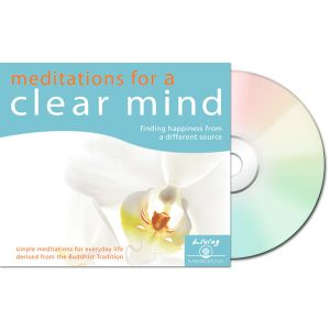 Meditations for a Clear Mind - Audio CD
