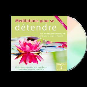 Méditation pour se détendre - CD audio