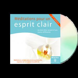 Méditation pour un esprit clair - CD audio