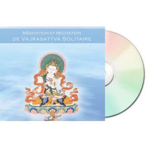 Méditation et récitation de Vajrasattva Solitaire - CD