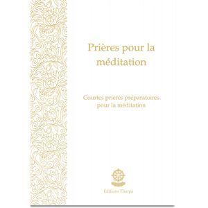 Prières pour la méditation - livret