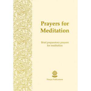 Prayers for Meditation - Booklet