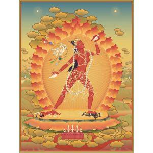 Vajrayogini 8 - A6 carte postale