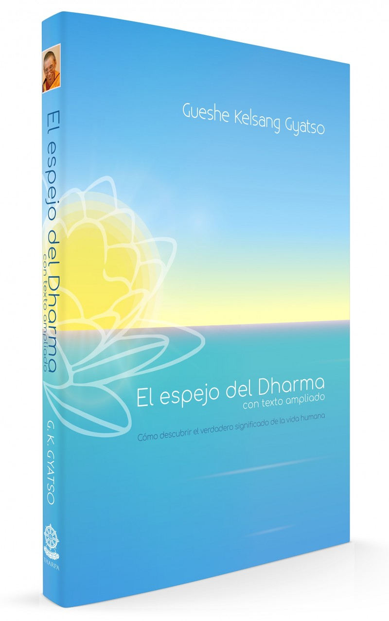 El espejo del Dharma con texto ampliado