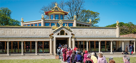 Temple for World Peace at  Manjushri Kadampa Meditation Centre
