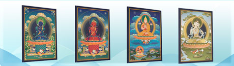 Tharpa Publications Art by Format 2A0 Canvas Print