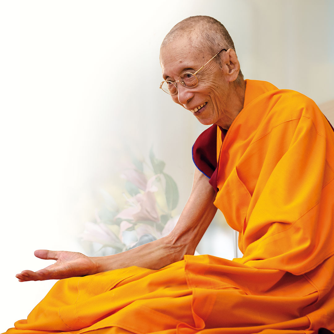 Venerável Geshe Kelsang Gyatso Rinpoche - Autor e Fundador