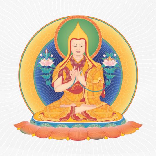 je-tsongkhapa-wiht-grey-bakground