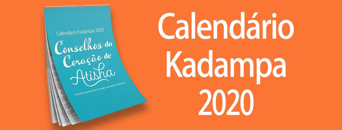 Calendário Kadampa 2020