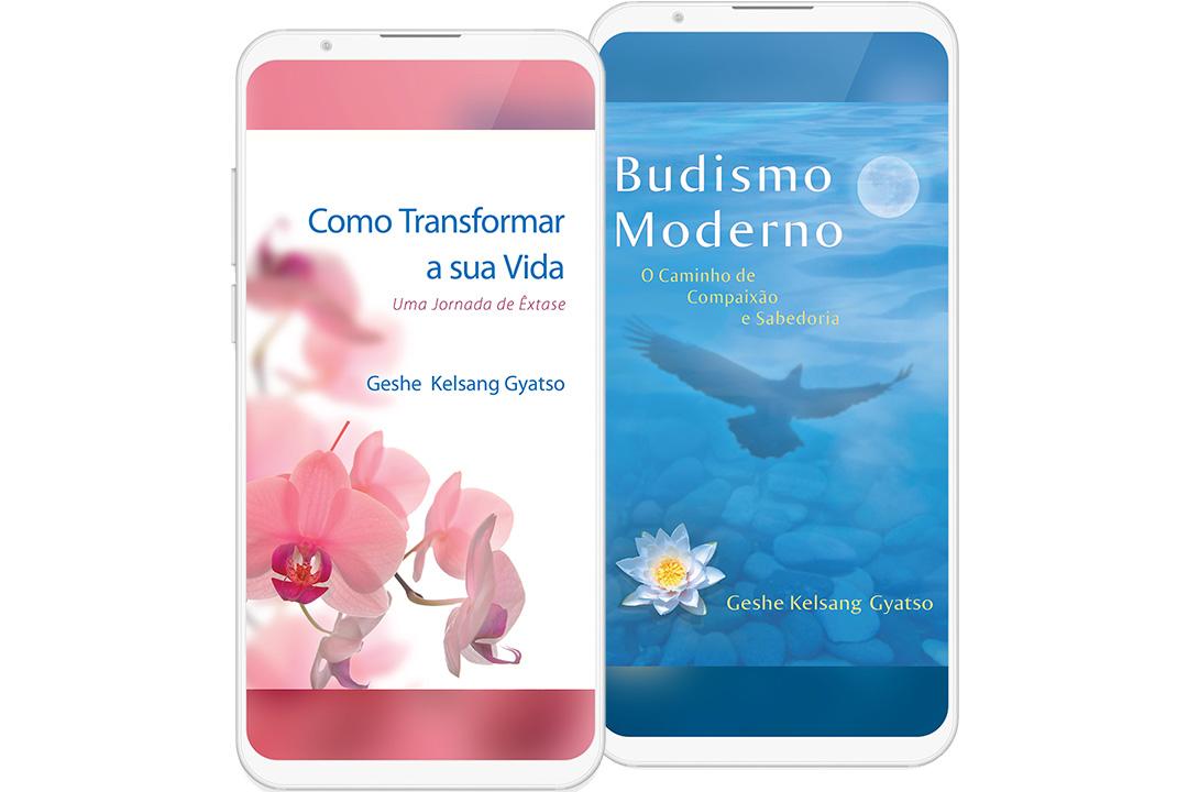 e-books Budismo Moderno e Como Transformar a sua Vida