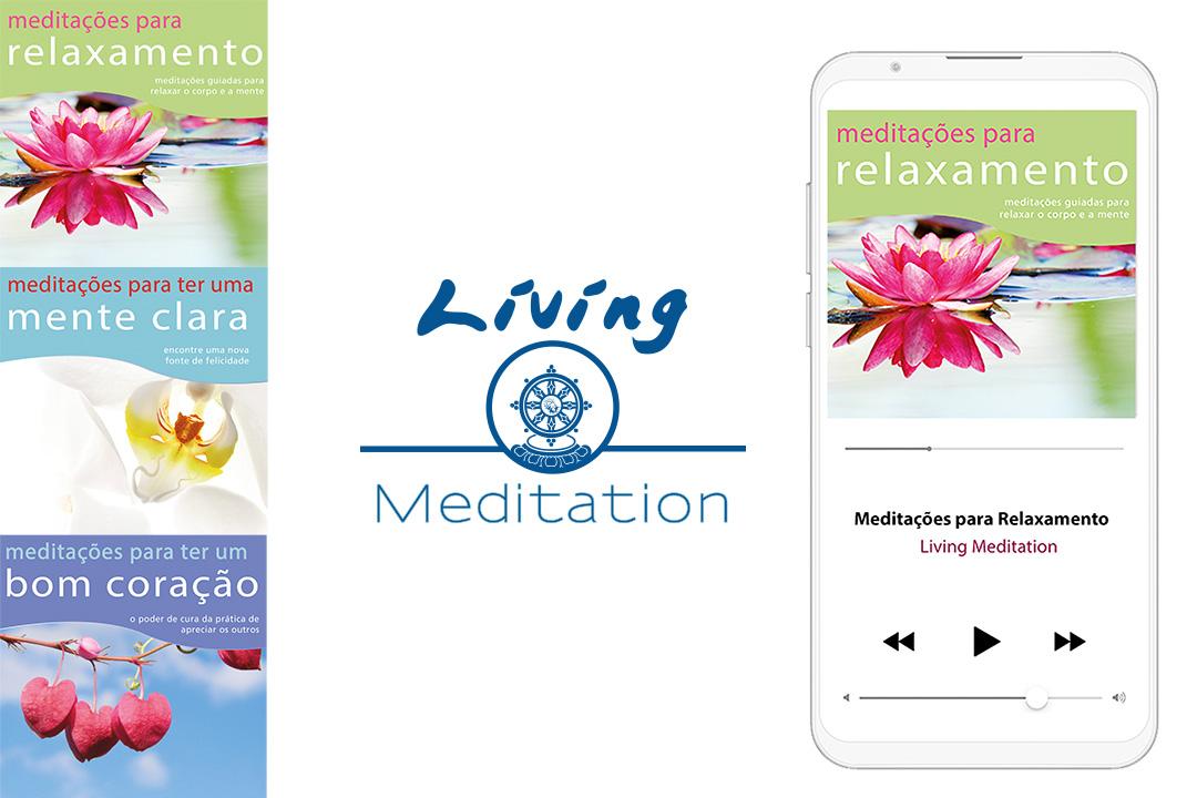 produtos da coleção Living Meditation