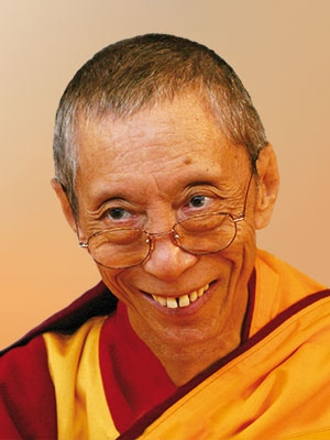 Venerable Geshe Kelsang Gyatso Rinpoche - author of the new book, The Mirror of Dharma