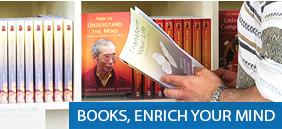 Books, enrich your mind