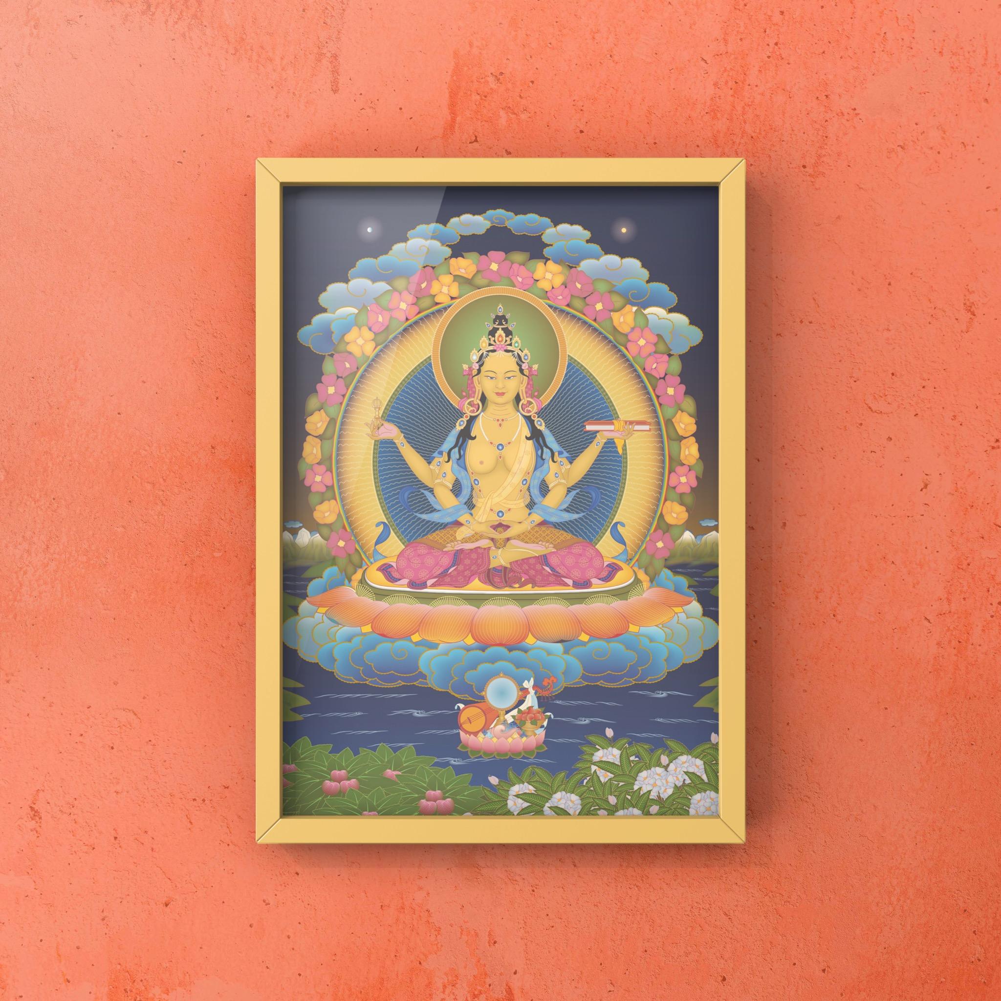 Prajnaparamita_wall